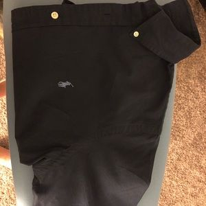 Navy blue short sleeve polo Ralph Lauren